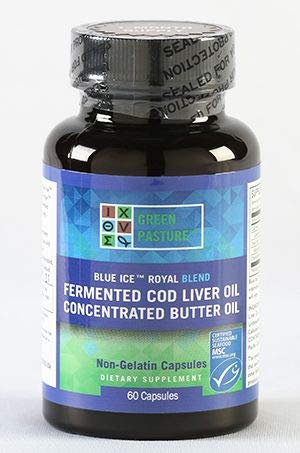 Visolie, Boterolie, Gefermenteerde Levertraan - Blue Ice Royal - 60 capsules